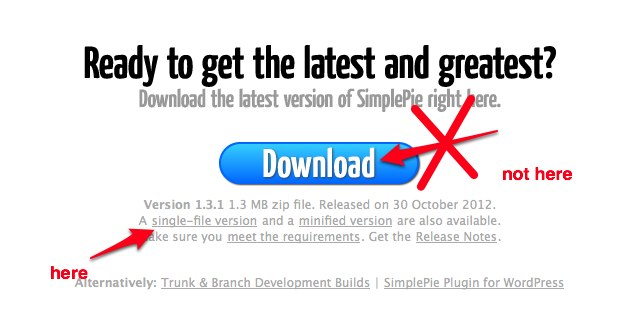 SimplePie_ Downloads