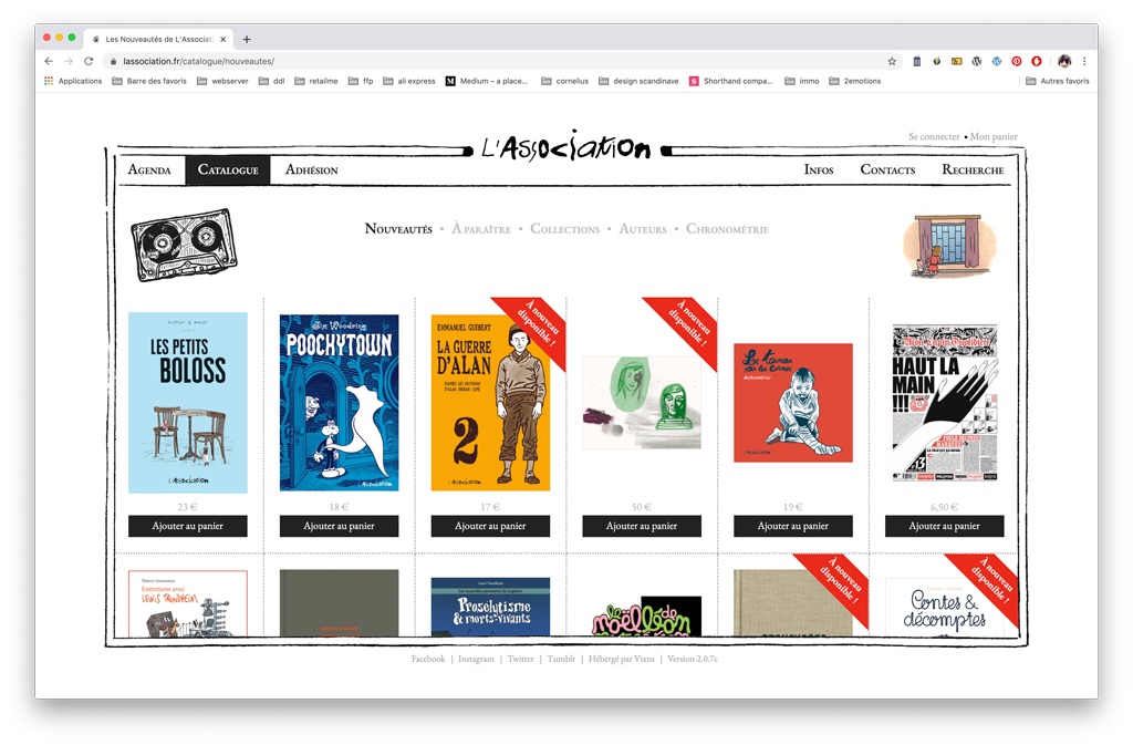 L'Association - catalogue